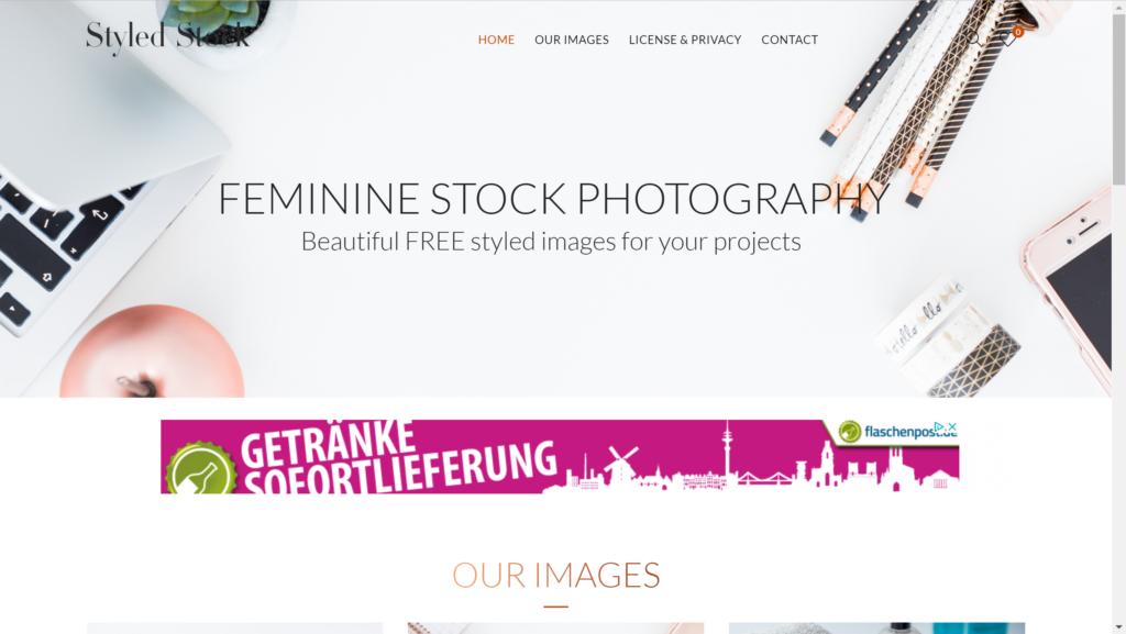 Styled Stock Screenshot
