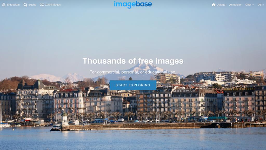 Imagebase Screenshot