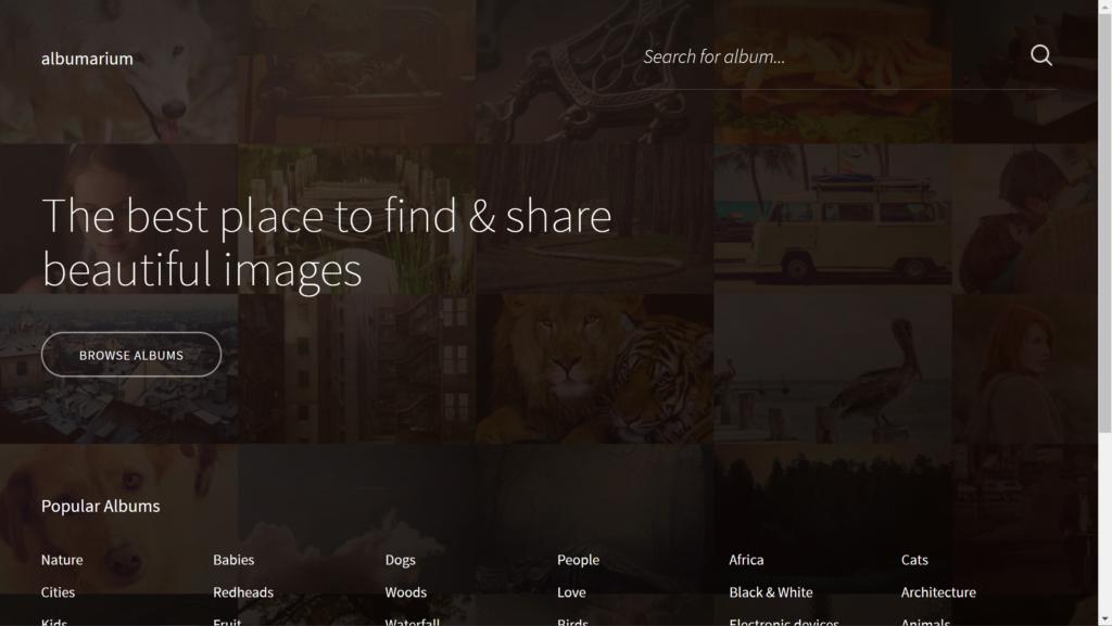 albumarium Screenshot