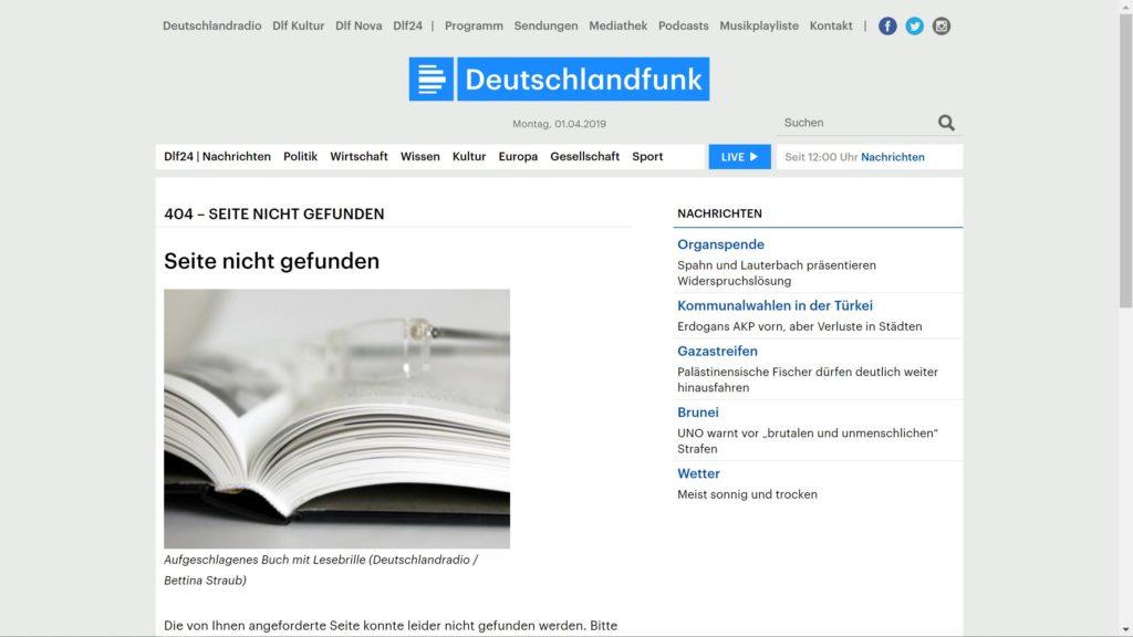 Deutschlandfunk 404