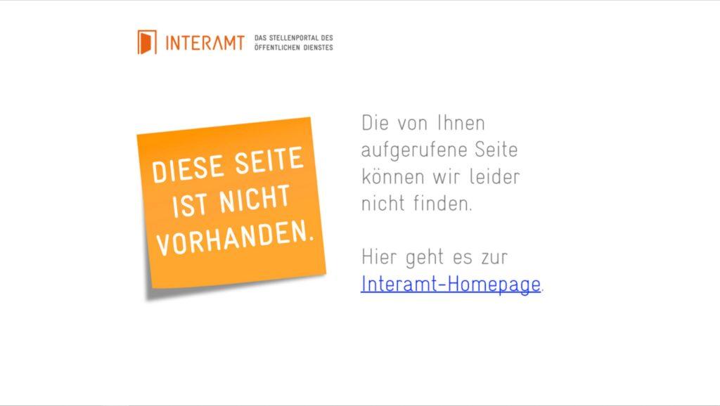 Interamt 404