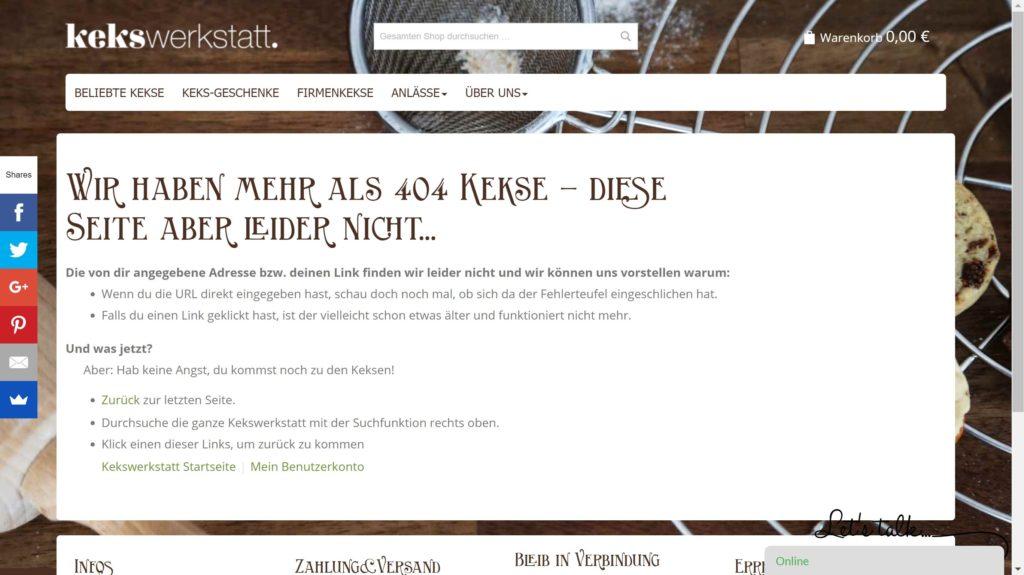 Kekswerkstatt 404