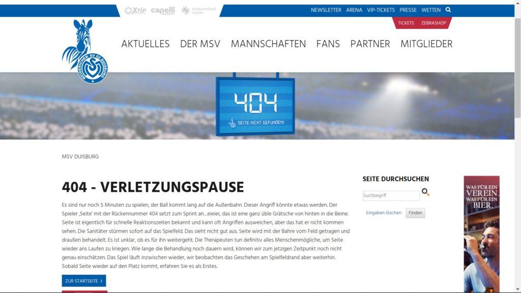 MSV Duisburg 404
