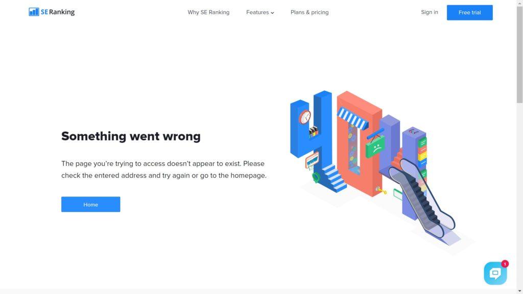 SEranking 404