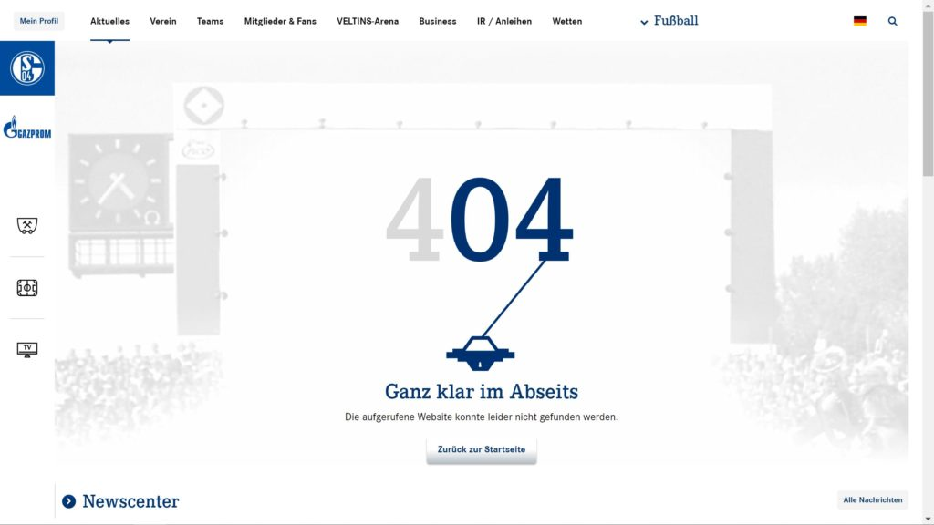 Schalke 404
