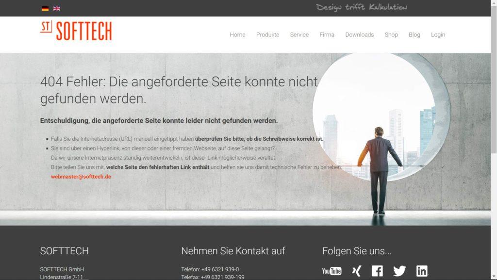 Softtech 404