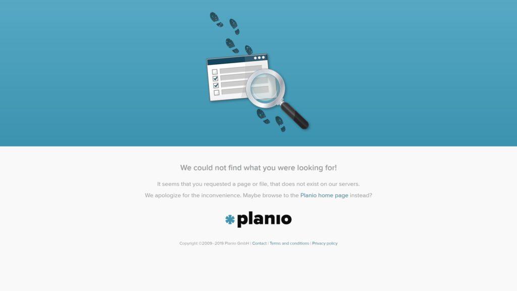 planio 404
