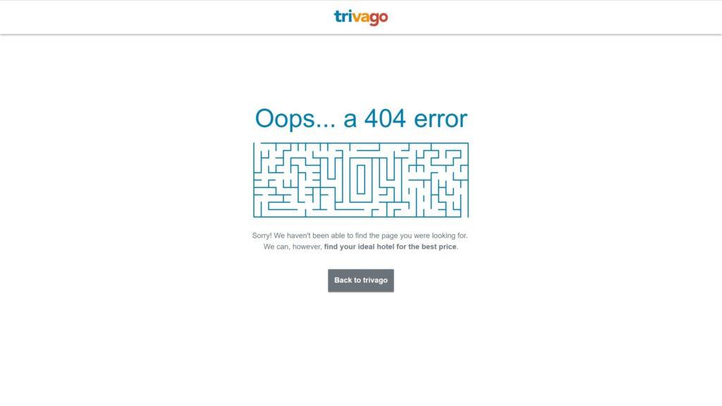 trivago 404