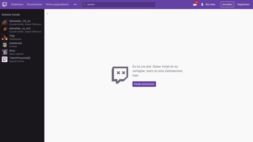twitch 404