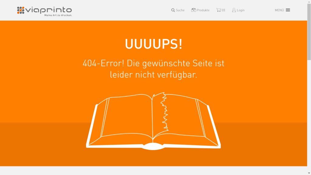viaprinto 404