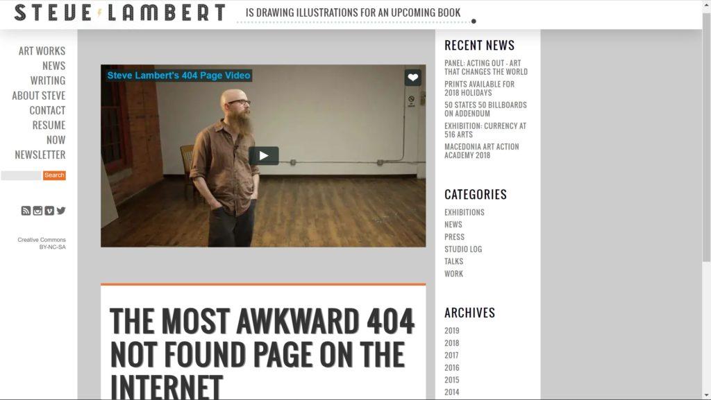 visitsteve 404