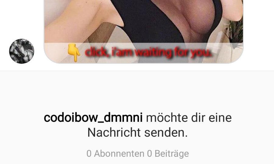 Fake-Anfragen auf Instagram