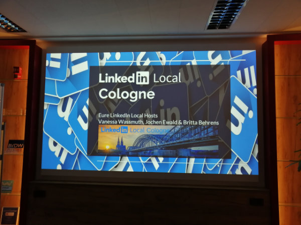 1. LinkedIn Local Cologne – Recap
