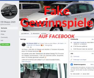 Fake-Gewinnspiele auf Facebook
